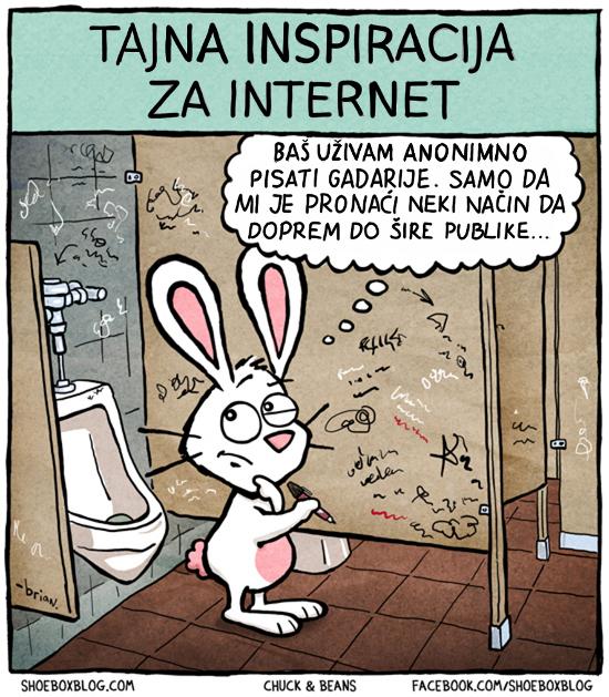 Tajna inspiracija za Internet