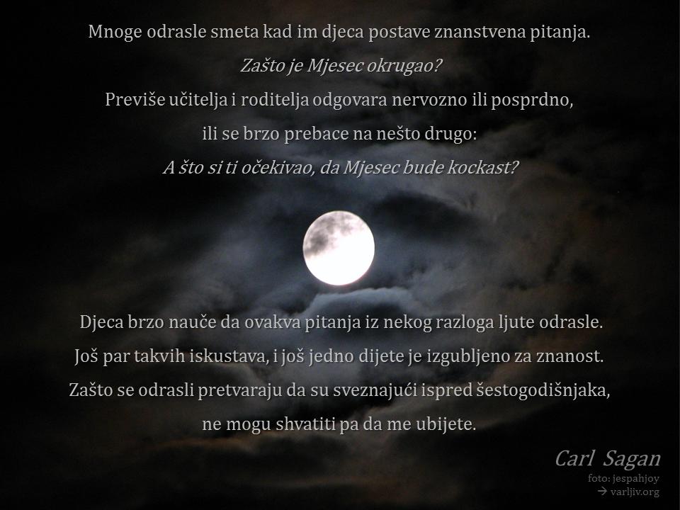 Carl Sagan o dječjim pitanjima